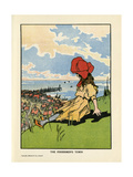 The Fisherman's Town Giclee Print by Charles Robinson