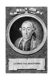 Louis de Beausobre Giclee Print by Daniel Chodowiecki