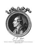 Johann Jakob Engel Premium Giclee Print by Daniel Chodowiecki
