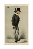 Hugh, Earl Cairns, V Fair Giclee Print by Carlo Pellegrini