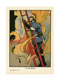 To the Rescue! Giclee Print by Charles Robinson