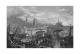 New London Bridge 1831 Giclee Print by Clarkson Stanfield