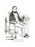 John Baldwin Buckstone Giclee Print by Daniel Maclise