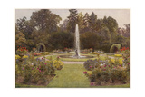 Drakelowe Garden 1908 Giclee Print by Beatrice Parsons