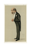 Sir Arthur Helps, Vanity Fair Giclee Print by Carlo Pellegrini