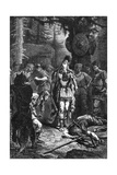 Clovis at Soissons 486Ad Giclee Print by C. Laplante