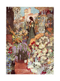 The Sensitive Plant, Robinson Giclee Print by Charles Robinson