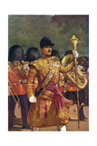 Drum-Major Giclee Print by Christopher Clark