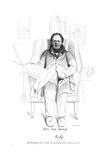 Thomas Hill, Bookman Giclee Print by Daniel Maclise
