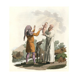 Ancient Irish Priests Giclee Print by Charles Hamilton Smith