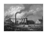 Ironworks, Schlesien Giclee Print by C. Reiss