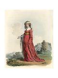 Joan Lady Gascoigne Giclee Print by Charles Hamilton Smith