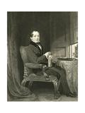 Thomas Moore Giclee Print by Daniel Maclise