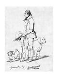 Sir Walter Scott Giclee Print by Daniel Maclise