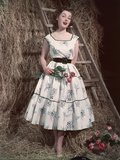Fifties Summer Frock Photographic Print by Charles Woof