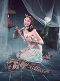 Harem Girl, Woof Photographic Print by Charles Woof