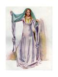 Englishwoman 1145 Giclee Print by Dion Clayton Calthrop