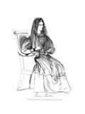 Jane Porter Giclee Print by Daniel Maclise
