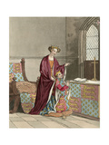 King Richard II and His Mother Giclee Print by Charles Hamilton Smith