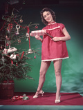 Pin-Up, Presents and Tree Photographic Print by Charles Woof