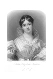 Letitia Landon Giclee Print by Daniel Maclise