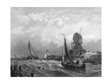 Netherlands Zuyder Zee Giclee Print by Clarkson Stanfield