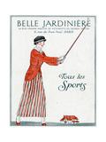 Lady Golfer 1914 Giclee Print by Bernard Boutet De Monvel