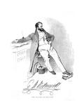 Charles M Westmacott Giclee Print by Daniel Maclise
