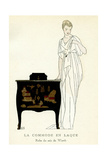 Lacquer Commode Giclee Print by Bernard Boutet De Monvel