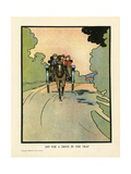 Off for a Drive in the Trap Giclee Print by Charles Robinson