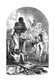 Slave Auction, USA, 1856 Giclee Print by C.W Sheeres