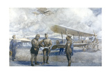 Royal Flying Corps Made Giclee Print by Christopher Clark
