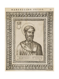 Pope Marcellinus Giclee Print