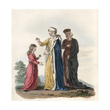 Ladies Costume Henry III Giclee Print by Charles Hamilton Smith