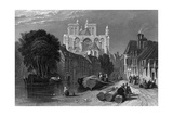 France, Abbeville Giclee Print by Clarkson Stanfield