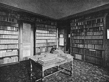 Jules Verne, Library Photographic Print by C Herbert