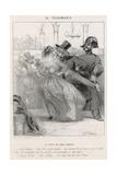 Police Prevent Polka Giclee Print by Charles Vernier