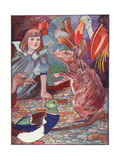 Alice, Mouse's Tale Giclee Print by Charles Robinson