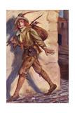 Merchant of V - Gobbo Giclee Print by Chas A Buchel
