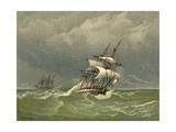 C19 Barque Giclee Print by Edward Duncan