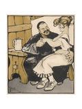 Rabelais Giclee Print by Edouard Bernard