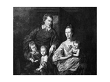 Thomas Johnson Family Giclee Print by Charles Wilson Peale