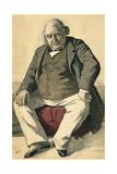 Ernest Renan Giclee Print by De La Barre