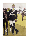 Racial, Prussian Officer Giclee Print by Eduard Thony