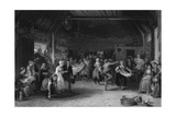 Scottish Penny Wedding Giclee Print by David Wilkie