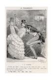 Polka Disapproved 1844 Giclée-Druck von Charles Vernier