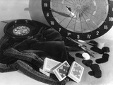 Indoor Games Photographic Print by Elsie Collins