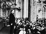 Lenin Speaks, 1921 Photographic Print by Ernst Tholmann