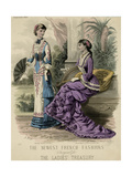 Princess Lind Dress 1880 Giclee Print by E Thirion