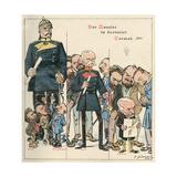 Bismarck Vs Chancellers Giclee Print by Franz Juttner
